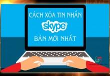 Cách Xoá Tin Nhắn Trên Skype NHANH NHẤT