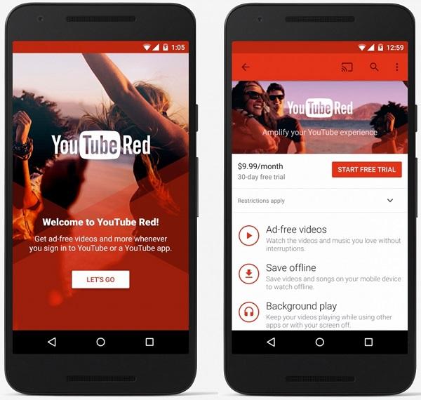 Tìm Hiểu Về Dịch Vụ Youtube Red