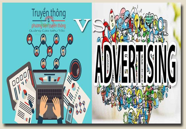 truyền thông là gì ? quảng cáo là gì ? Chúng khác nhau ở đâu ?
