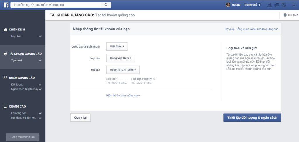 Tự Chạy Quảng Cáo Facebook