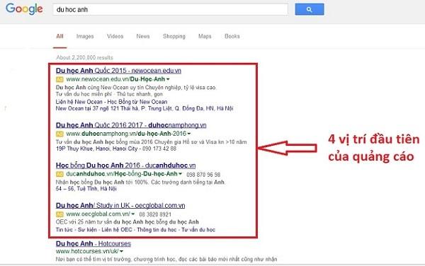 cách làm quảng cáo google adwords