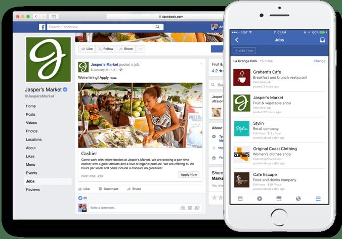 Tuyển Dụng Nhân Sự Trên Facebook Với Tính Năng Hoàn Toàn Mới