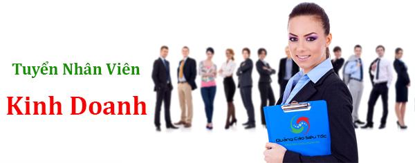 Tuyển nhân viên kinh doanh marketing online
