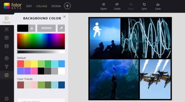 Ứng dụng ghép ảnh Fotor mang lại rất nhiều sự lựa chọn