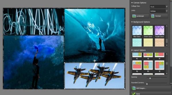 Ứng dụng ghép ảnh PhotoPad siêu tốc