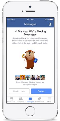 Ứng dụng Facebook Messenger Và Quá Trình Phát Triển Vượt Bậc