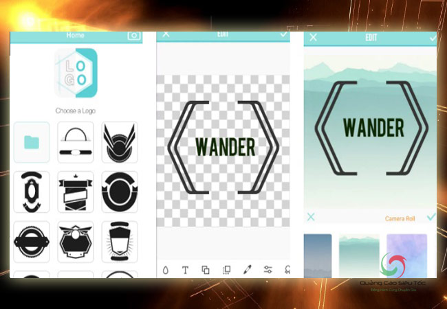 Ứng dụng thiết kế logo LogoMaker & LogoCreator