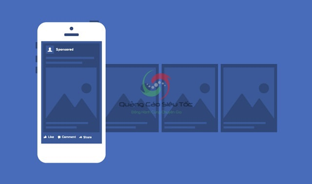 Vị trí quảng cáo Facebook trên di động