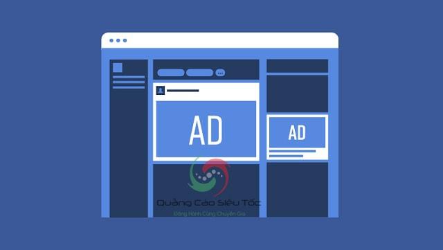 Vị trí quảng cáo Facebook trên máy tính, PC