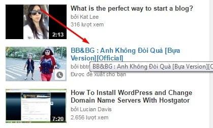 Hướng Dẫn Cách HIỂN THỊ VIDEO LIÊN QUAN Trên Youtube