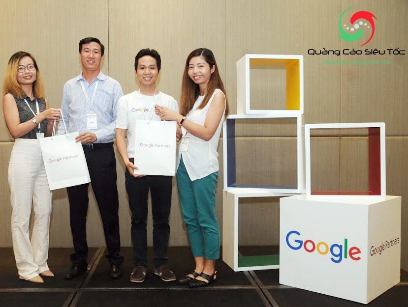 Quảng Cáo Siêu Tốc là đối tác chính thức của Google tại Việt Nam