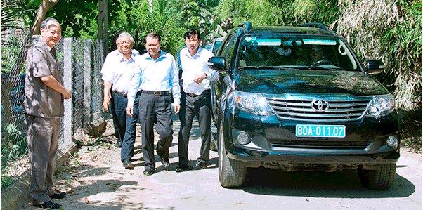 Phó Thủ Tướng đến thăm Võ Tuấn Hải
