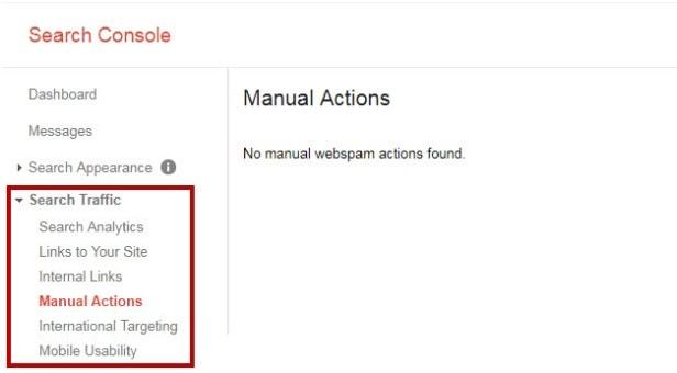 Website Đã Bị Google Phạt