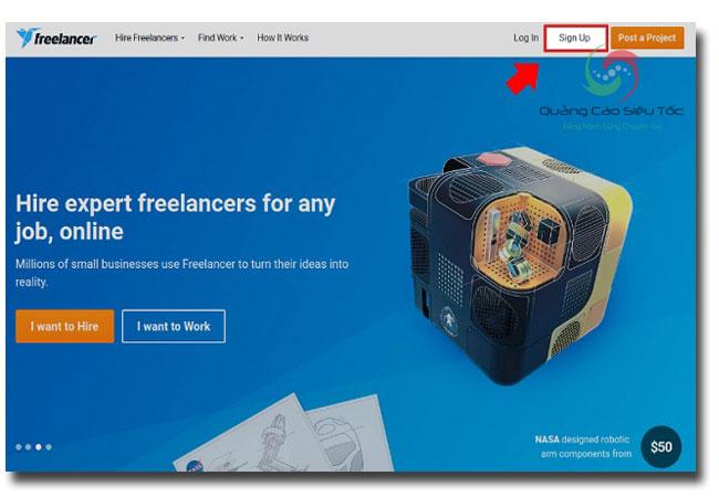 trang web tuyển dụng dành cho freelancer