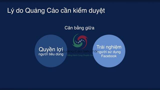 Xét duyệt quảng cáo facebook