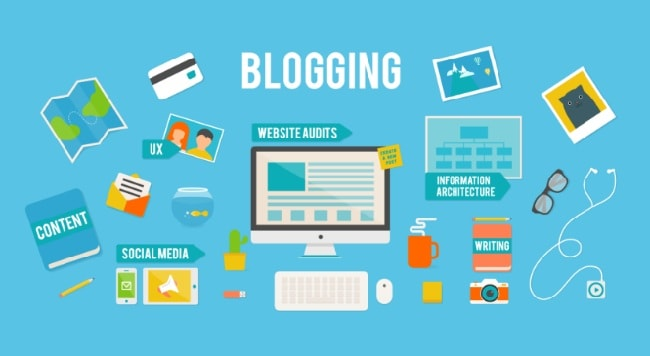 Ý tưởng kinh doanh dành cho người ít vốn- Viết blog