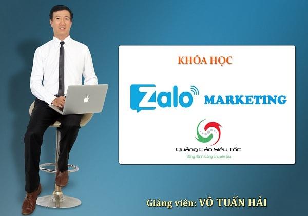 Khóa Học Zalo Marketing CHUYÊN SÂU [Chuyên Gia VÕ TUẤN HẢI]