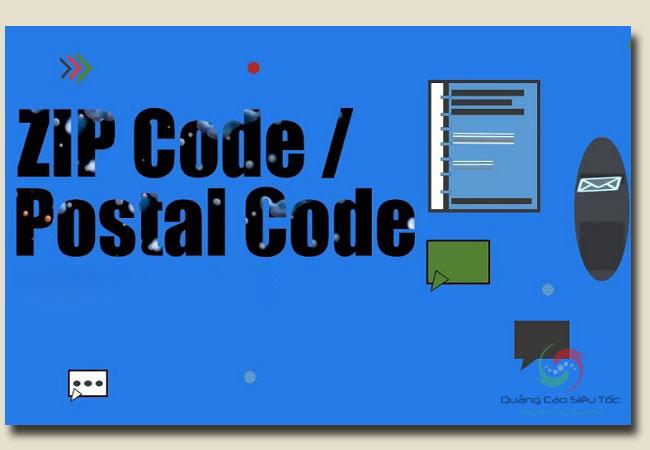 zip code là gì? mã bưu chính là gì