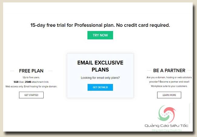 Zoho mail và cách đăng ký tài khoản
