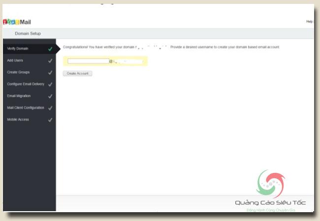 Zoho mail đăng ký như thế nào