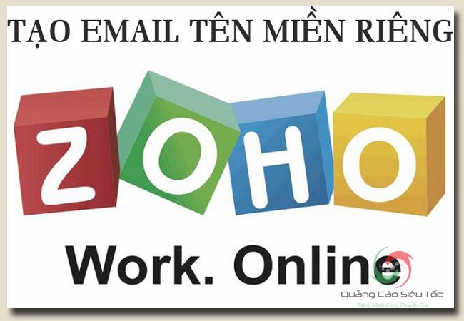 Zoho mail tên miền riêng dành cho doanh nghiệp