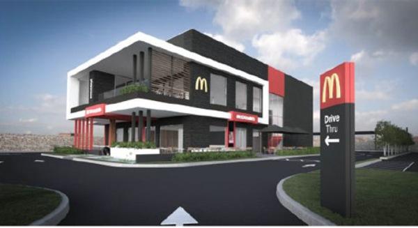 Mặt tiền của McDonald's tại Hồ Chí Minh