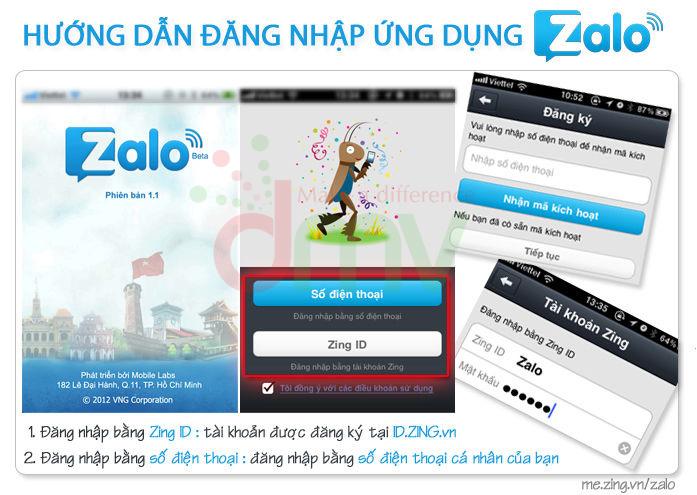 Đăng kí tài khoản Zalo | Quảng Cáo Siêu Tốc.Com