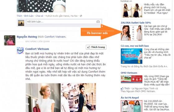 Dịch vụ Facebook Standard Ads - Hiển thị cột bên phải | Quảng Cáo Siêu Tốc.Com