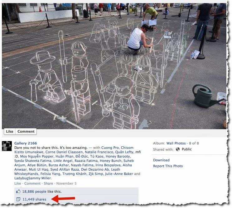 cách tăng lượt share trên facebook