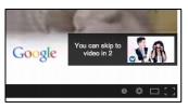 Nút Skip Ads trong quảng cáo