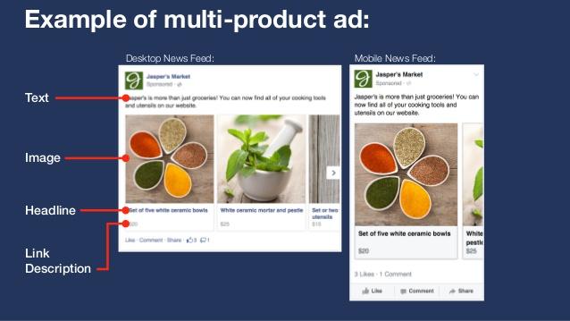 Các quy tắc cần nhớ khi tạo Multi - Product Ads