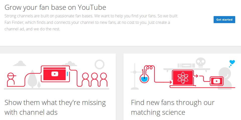 Hiệu quả của Fan Finder trong quảng cáo Youtube