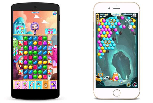 Hai trò chơi trong Viber Game