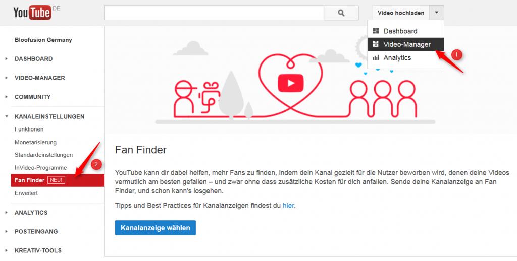 Youtube Fan Finder - Công cụ hữu ích để thu hút nhiều Fan
